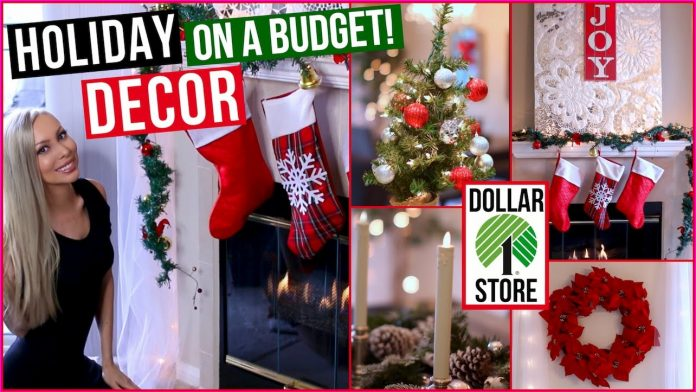 100 Dollar Store Christmas Decor DIY Ideas.