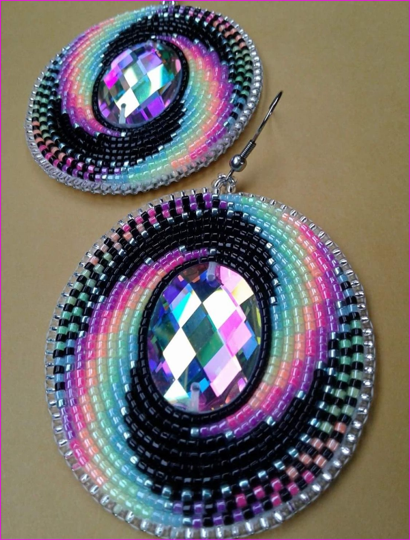 Amazing Beaded Earrings! #NativeAmericanJewelry   Beads   Pinterest ...