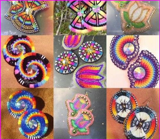 List of Synonyms and Antonyms of the Word: native american beading