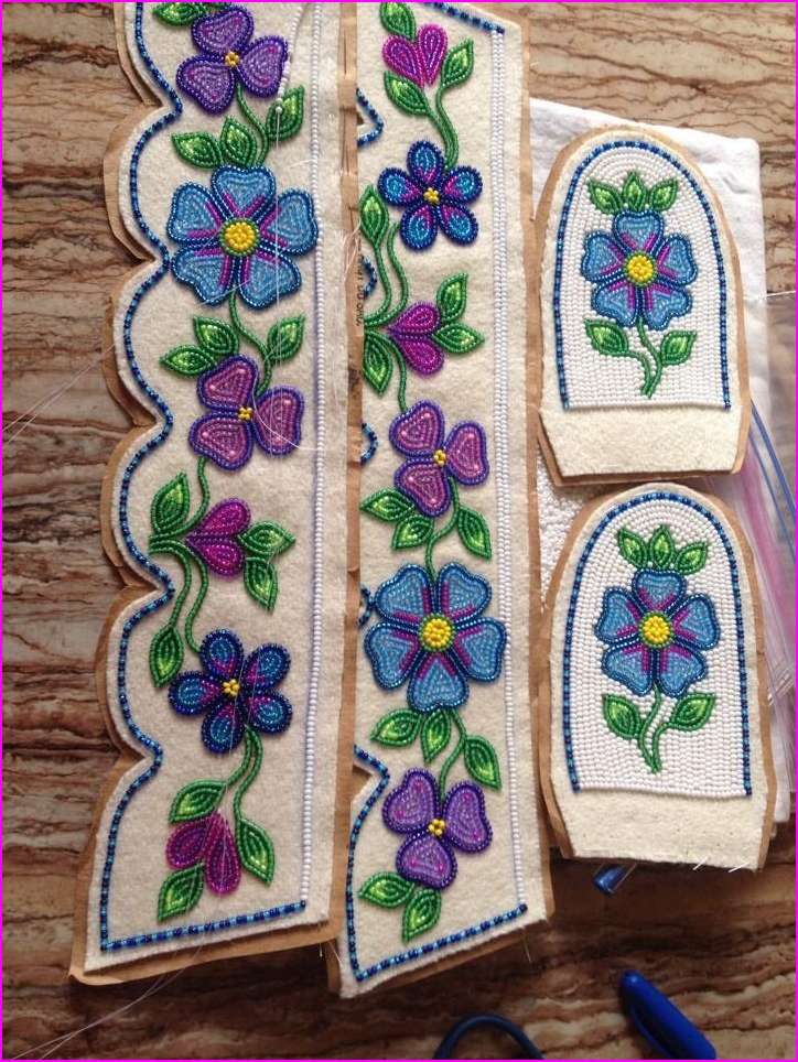 289 best Athabascan Beadwork images on Pinterest Native, indian ...
