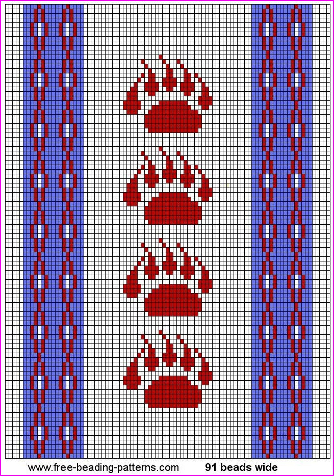 Printable Native American Beading Patterns - Bing images | beadideas ...