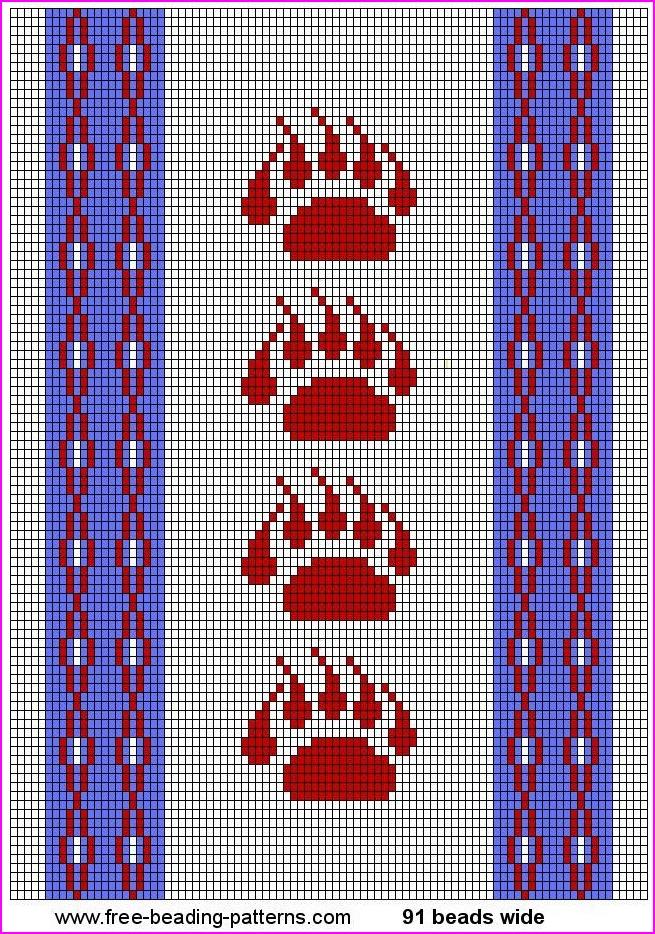 Printable Native American Beading Patterns - Bing images   beadideas ...