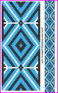 image regarding Free Printable Native American Beading Patterns identified as 20 Indigenous American Beadwork Layouts - Do It Just before Me