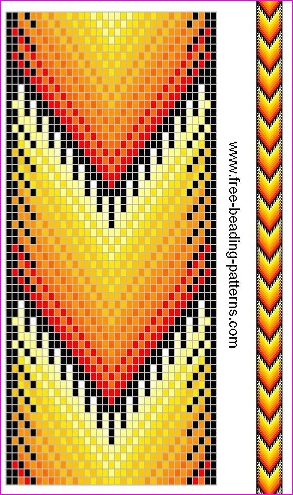 picture relating to Free Printable Native American Beading Patterns titled 20 Indigenous American Beadwork Models - Do It Prior to Me