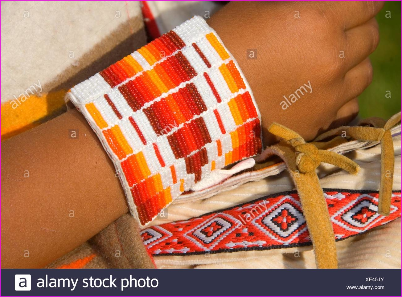 Native American Beadwork Stock Photos & Native American Beadwork ...