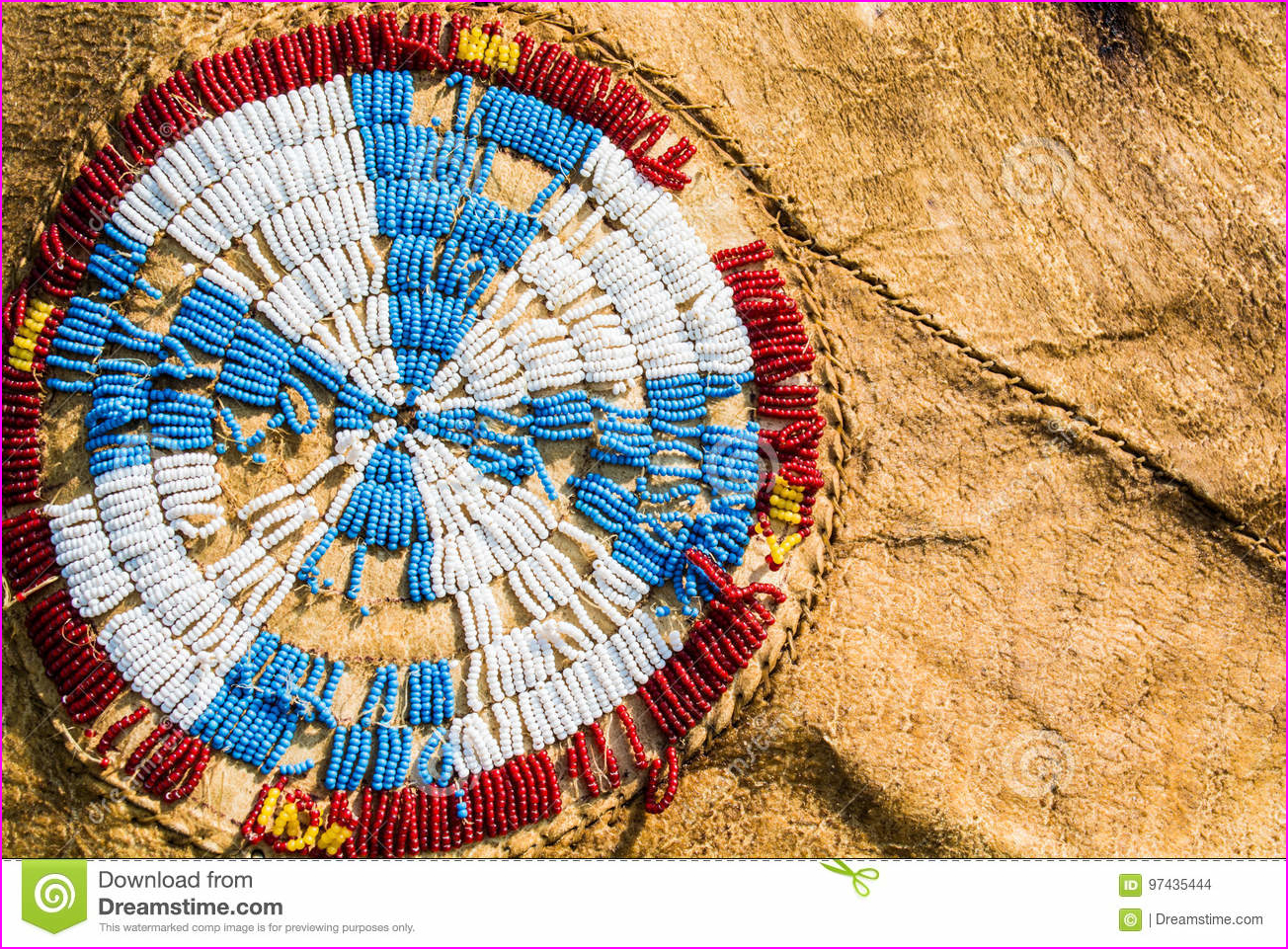 Native American Beadwork stock photo. Image of beads - 97435444