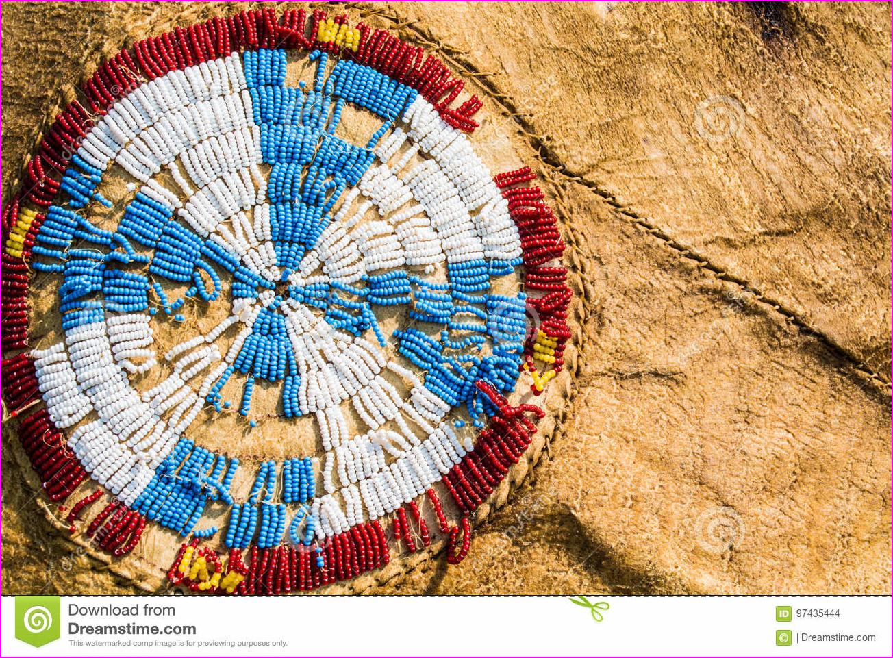 Native American Beadwork stock photo. Image of beads - 97435444