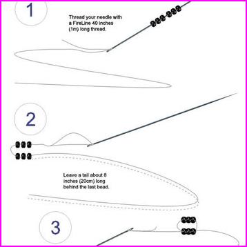 Earrings beading pattern. Native American from BeadingTutorials