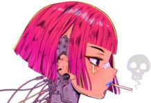 cyberpunk character design 2020