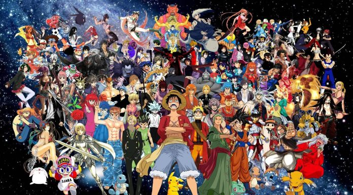Anime Character Designs