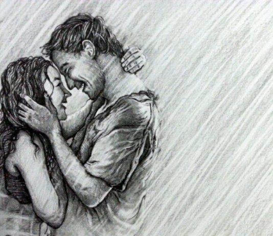 35 Easy Drawing Ideas - Pencil Drawing Images of Love.