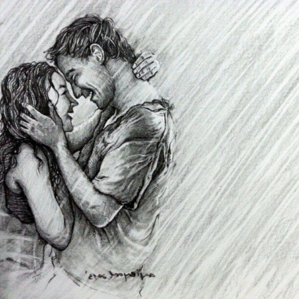 35 Easy Drawing Ideas , Pencil Drawing Images of Love , Do