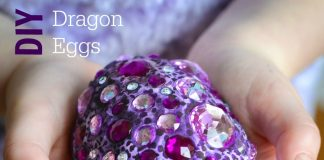 Fun Craft Projects for Kids - Fantasy Dragon Eggs
