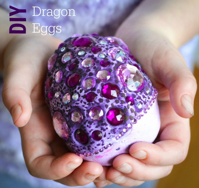 Fun Craft Projects for Kids – Fantasy Dragon Eggs