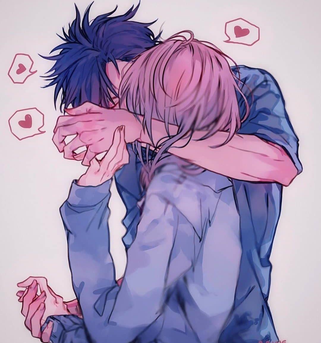 Love Couple Anime Drawings