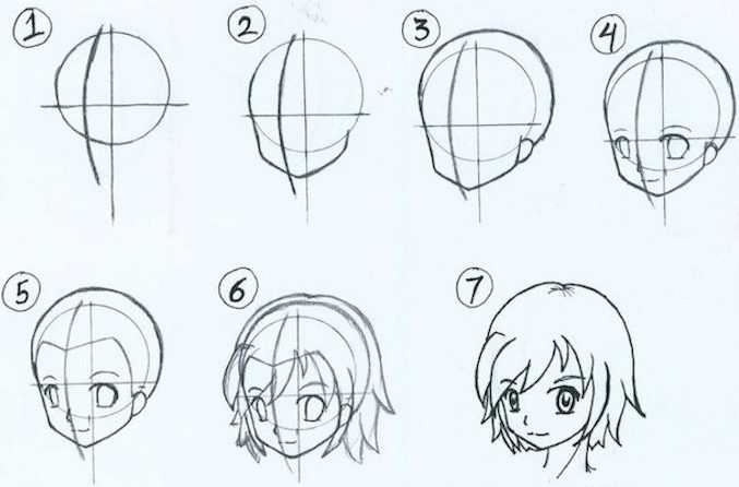 35 Cute Girl Drawing Ideas - Easy Step By Step Tutorials