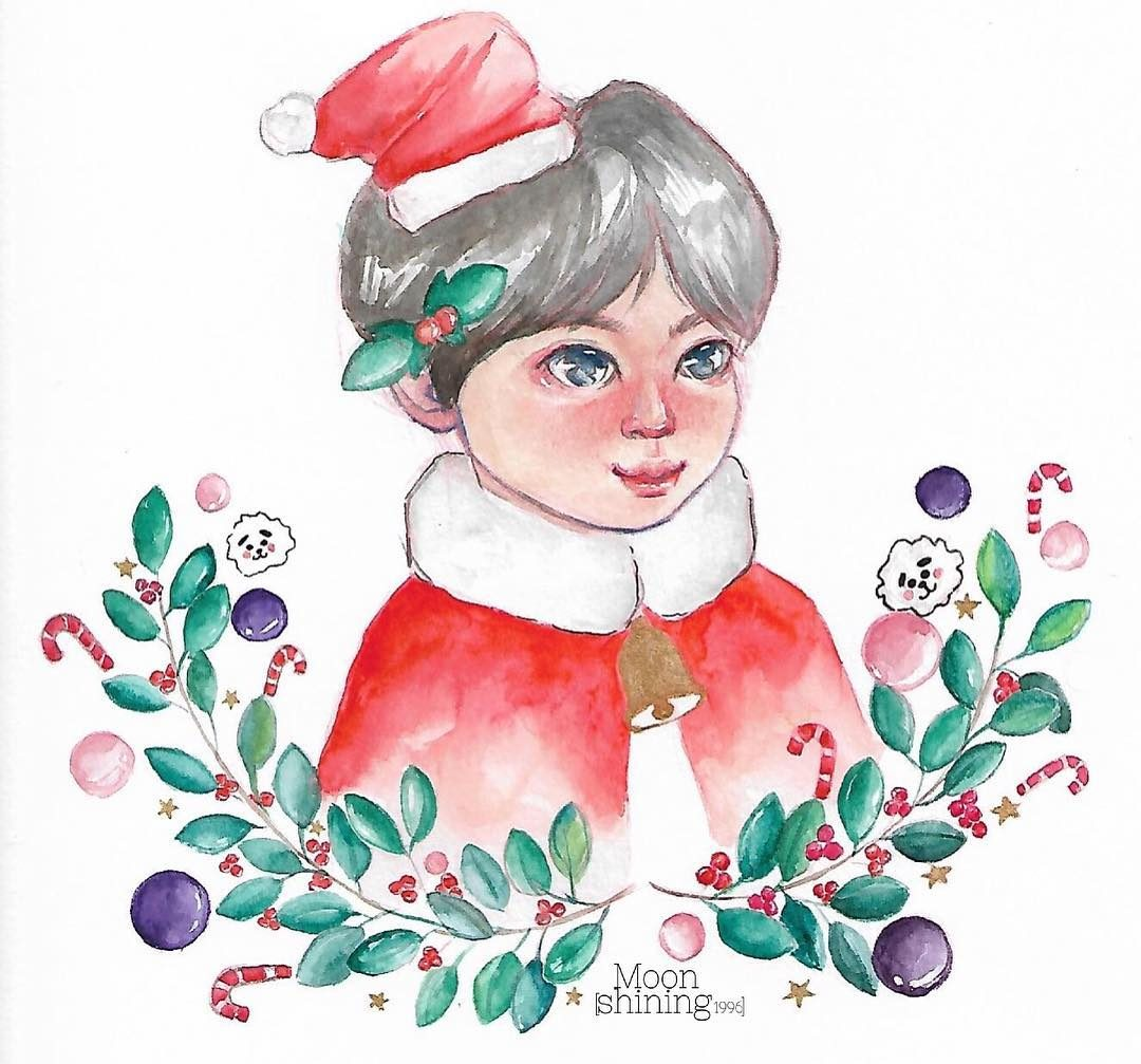 beautiful christmas drawing easy
