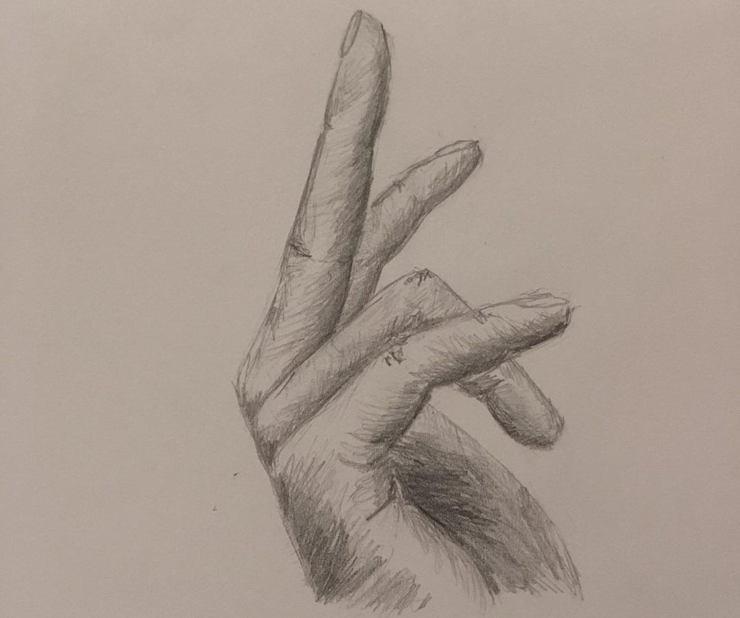 hand drawing reference