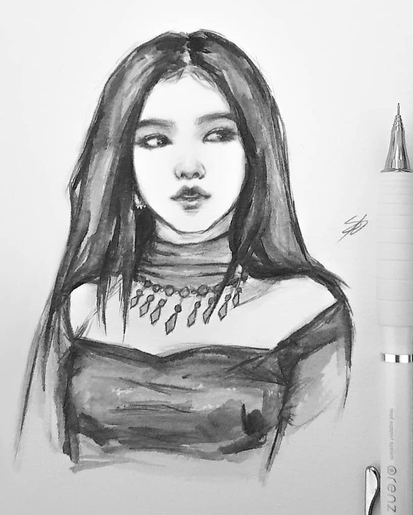 kpop drawing easy 2020