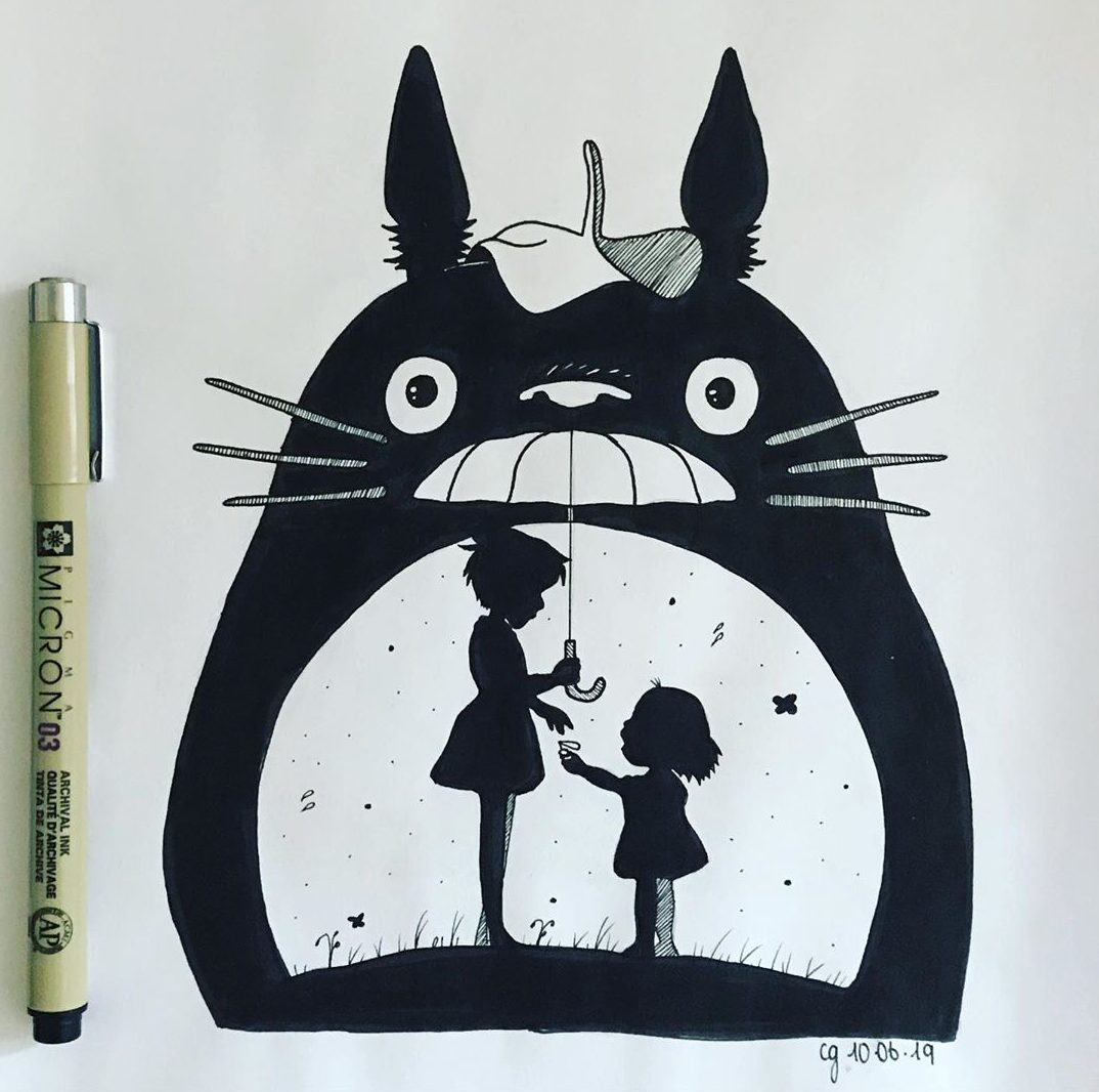 14 Easy Cat Bus Drawings from My Neighbor Totoro - Do It ...