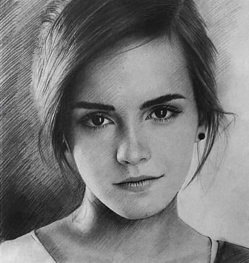 emma watson drawings