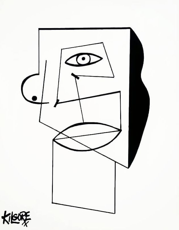 picasso line drawings face