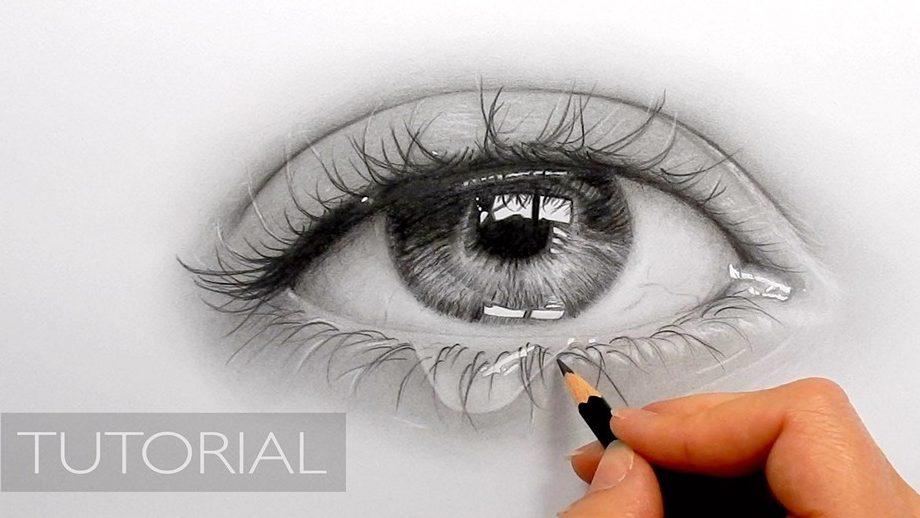 Depressing cry eye draw