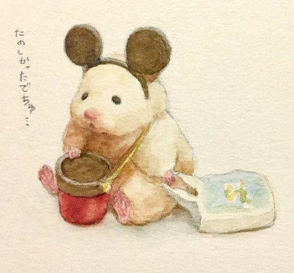 Hamster drawing simple