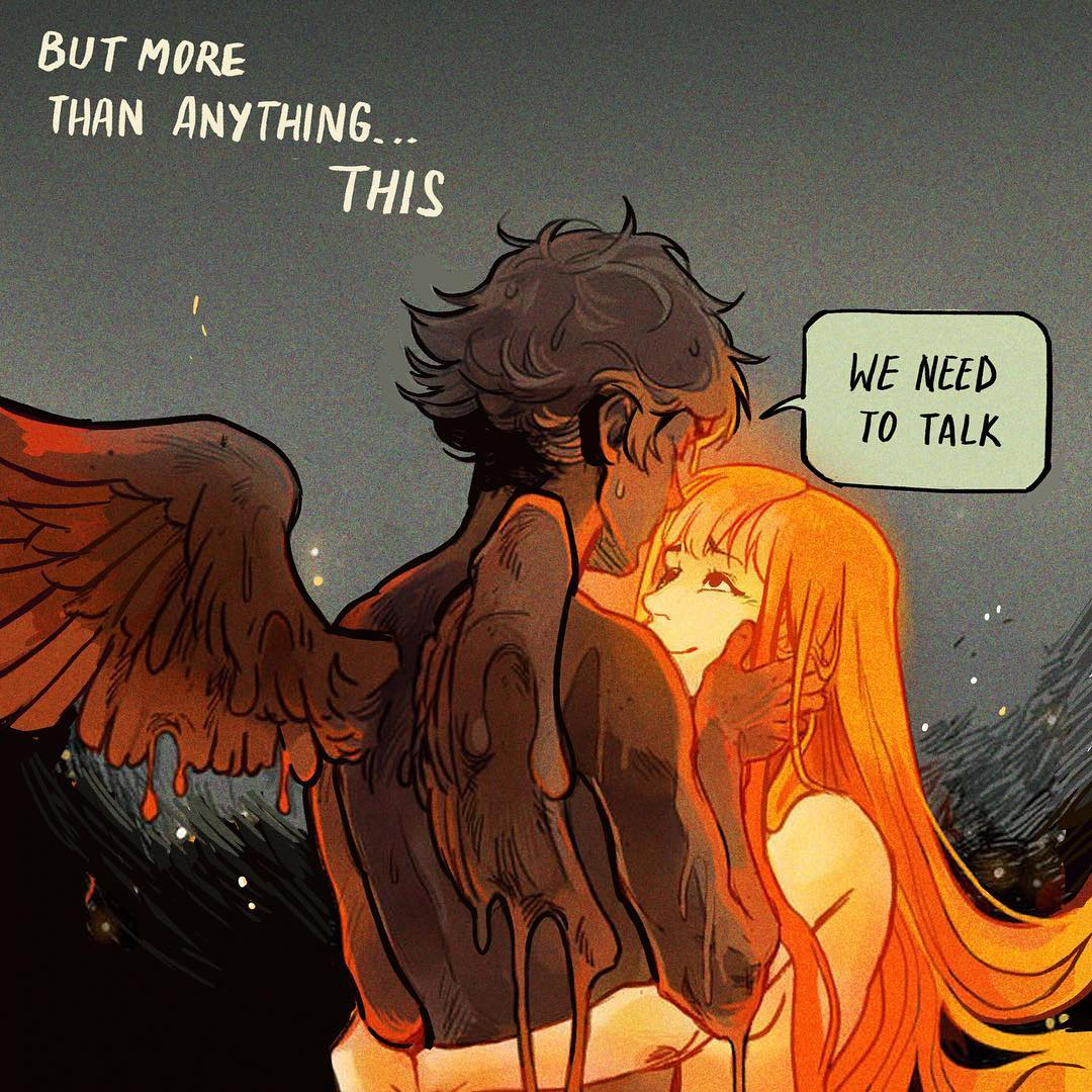 Icarus and the Sun comic