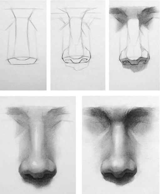 Nose sketch