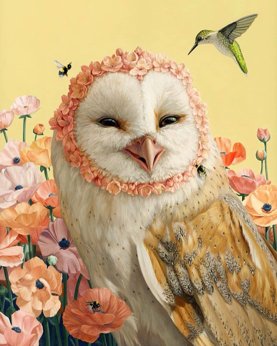 Owl surrealism art