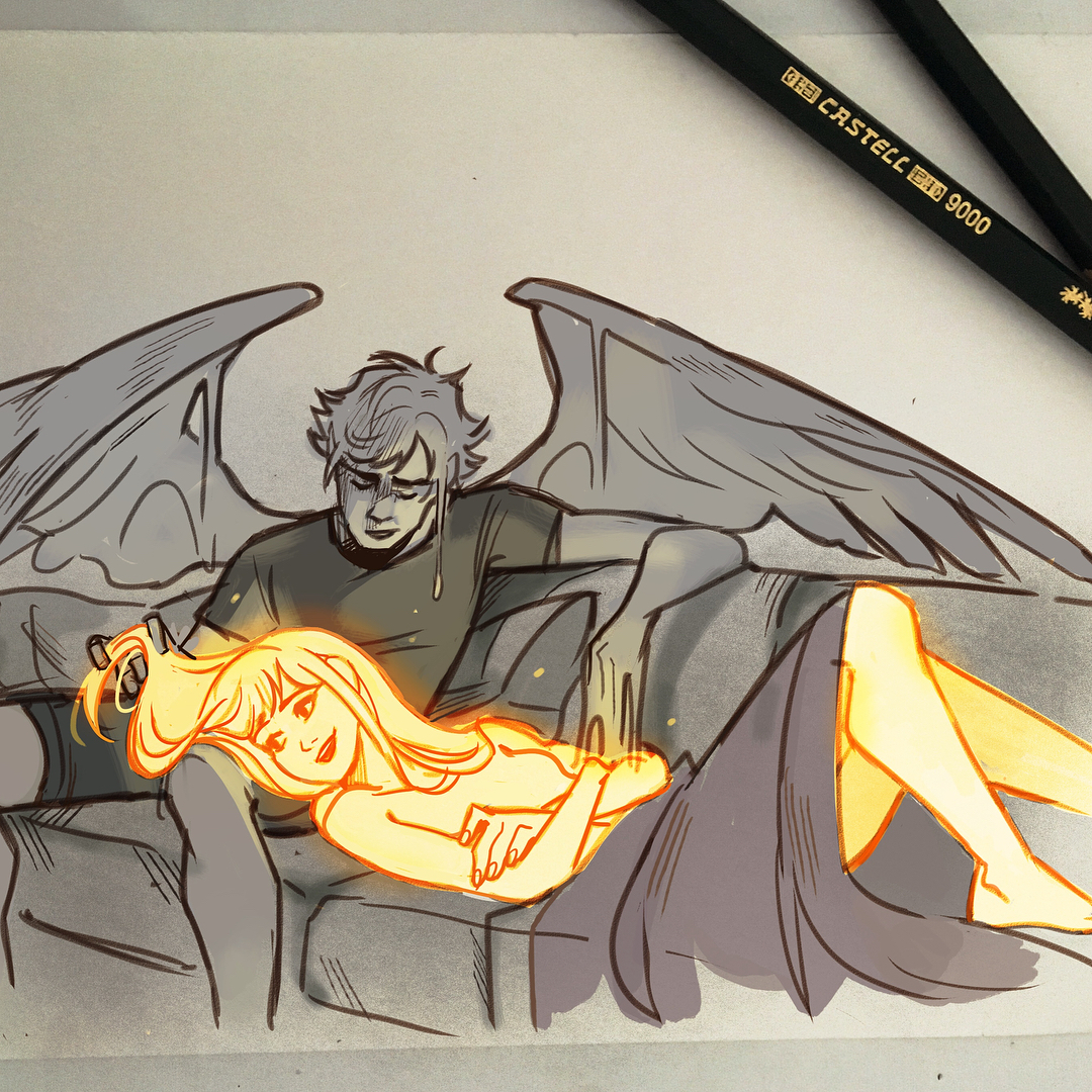 icarus and the sun couple
