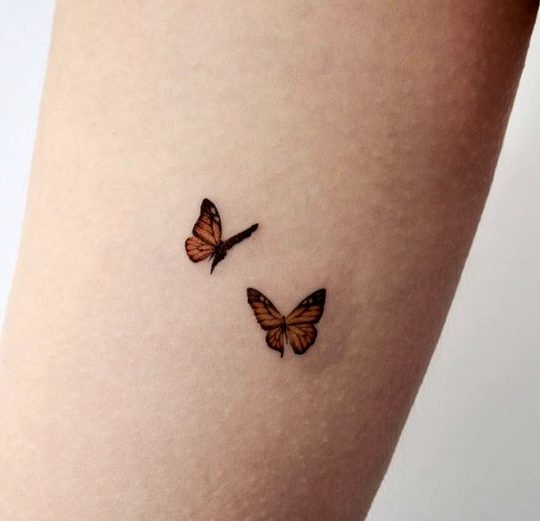 8 Cutest Small Butterfly Tattoo Designs Do It Before Me