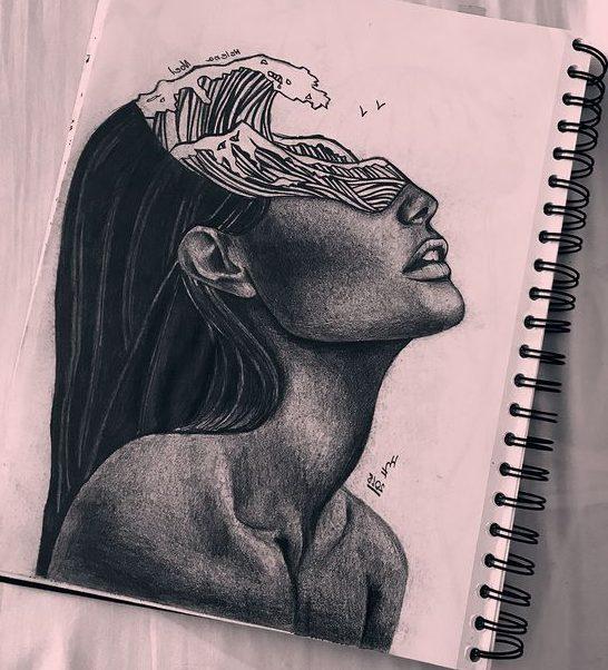 Art beautiful drawing