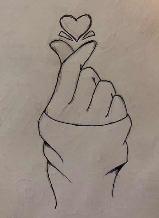 Love pencil art
