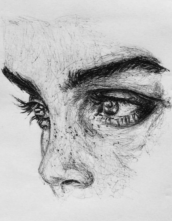 Woman Pencil Art