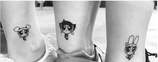 symbolic tatto for friends