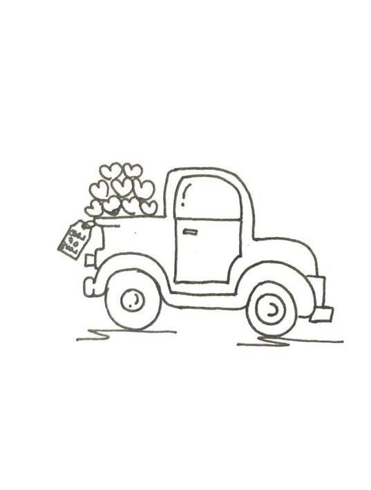 beginner car draw easy