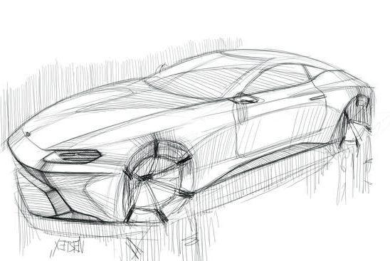 design lamborghini sketch