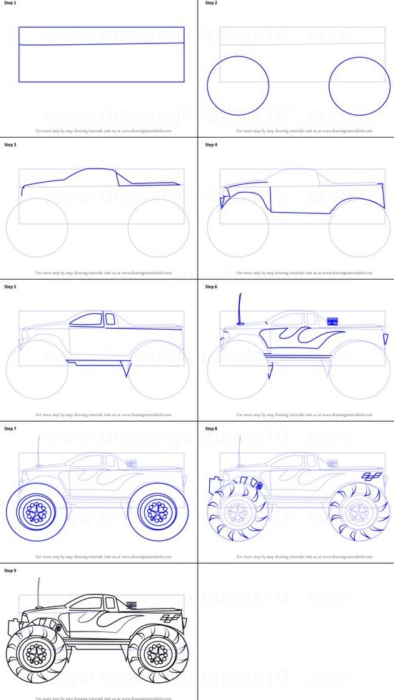 easy how to draw a car step by step