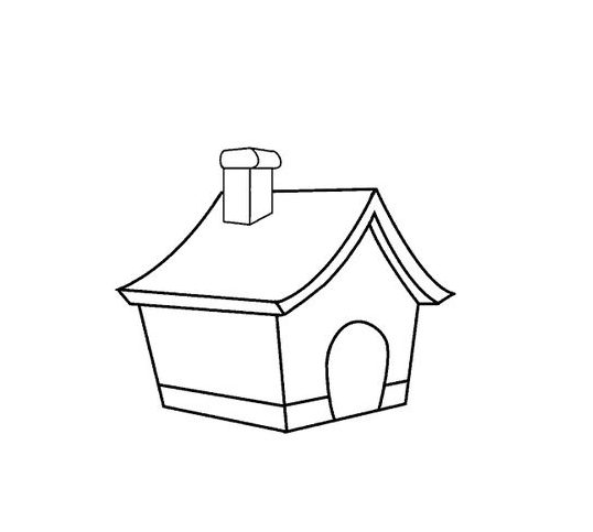 easy how to draw a house