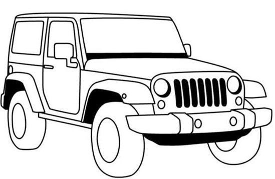 easy step how to draw a car