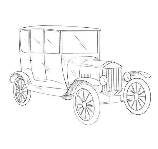 realistic pencil realistic car drawing