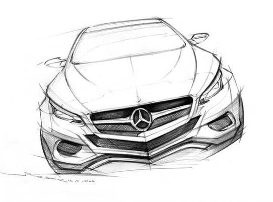 realistic sketch realistic car drawing