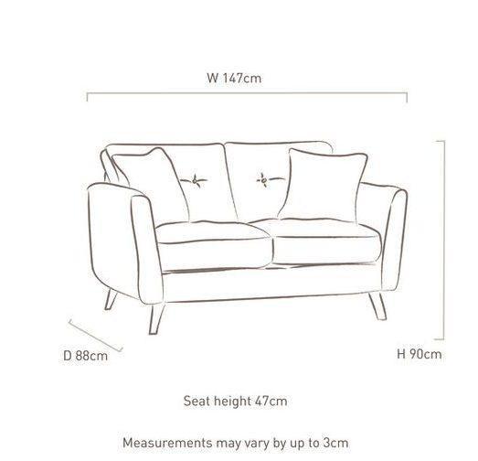 single sofa dimensions in inches