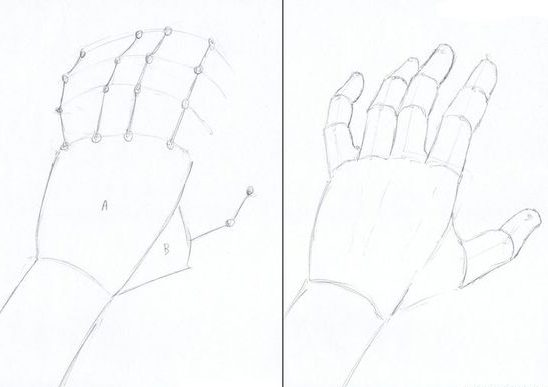 step easy how to draw a hand