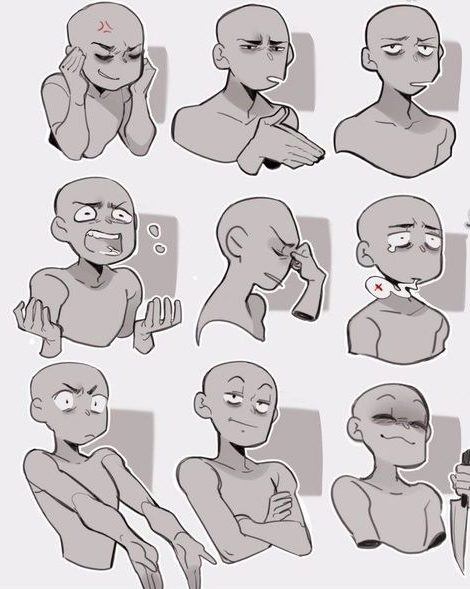 Body drawing poses